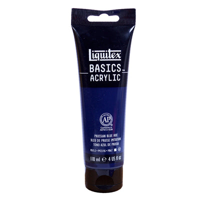 Liquitex Basics Acrylic Colour- Prussian Blue Hue, 118Ml Tube