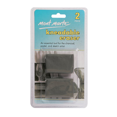 Mont Marte Kneadable Erasers- Clamshell 2pcs