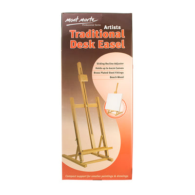 Mont Marte Traditional Desk Easel- 1pc