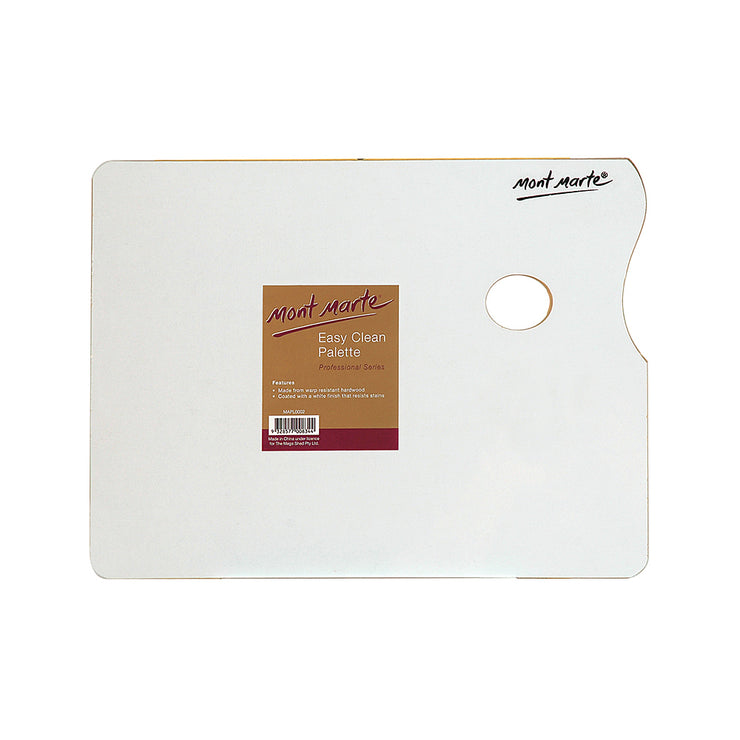 Mont Marte Easy Clean Wood Palette - 30x40cm, 1pc