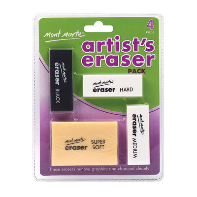 Artists Eraser Pack 4pcs