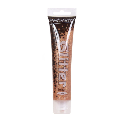 Mont Marte Glitter Paint 75ml - Copper