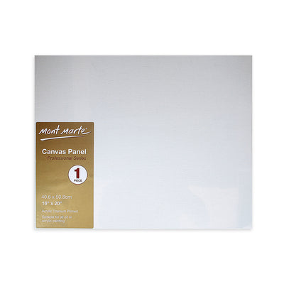 Mont Marte Professional Series Canvas Panel - 40.6x50.8cm, 1pc