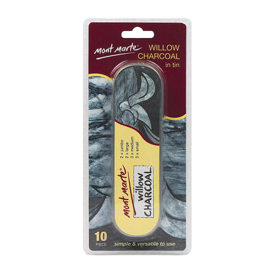 Mont Marte Willow Charcoal Set - 10pc