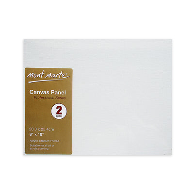 Mont Marte Professional Series Canvas Panel -2pc