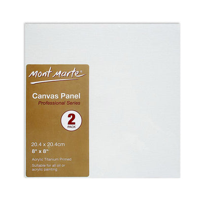 Professional Series Canvas Panel - 20.4x20.4cm, 2pc