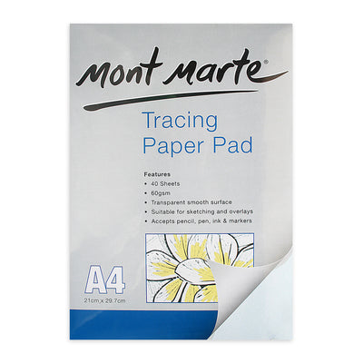 Mont Marte Tracing Paper Pad- A4size
