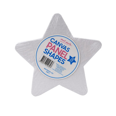Mont Marte Canvas Panel - Star, 8pc