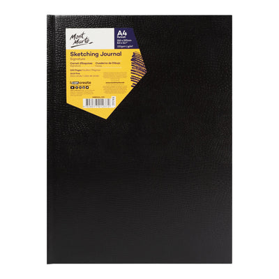 Mont Marte Signature Sketching Journal Croc Finish 150Gsm A4 Portrait 100 Page