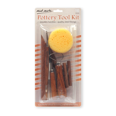 Mont Marte Pottery Tool Kit -10pcs