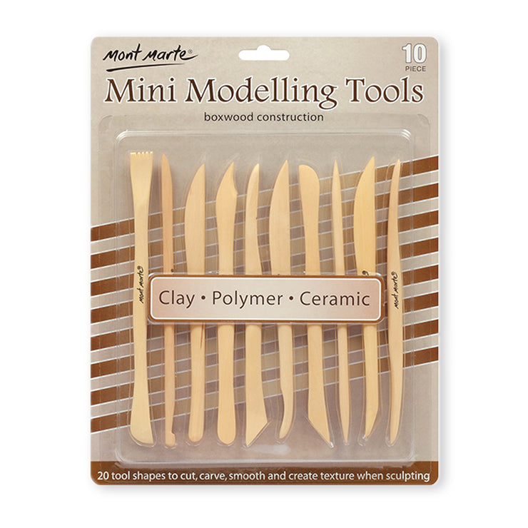 Mont Marte Mini Modelling Tools- Set of 10