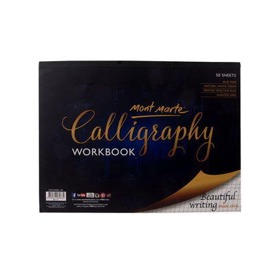 Calligraphy Workbook - 50sheets