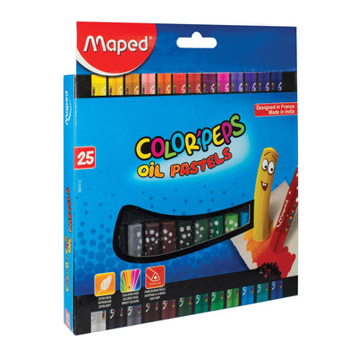 Maped Color'Peps Oil Pastels 25 Shades
