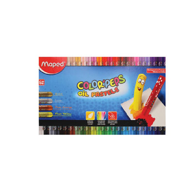 Maped Color'Peps Oil Pastels 52 Shades