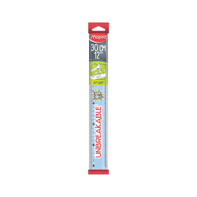 Maped Unbreakable Ruler 30 cm/ 12 inch