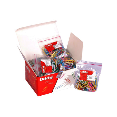 Paper Clips 100 pcs - Assorted  Colour