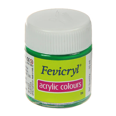 Fevicryl Acrylic Colours - Light Green, 15ml, 1pc