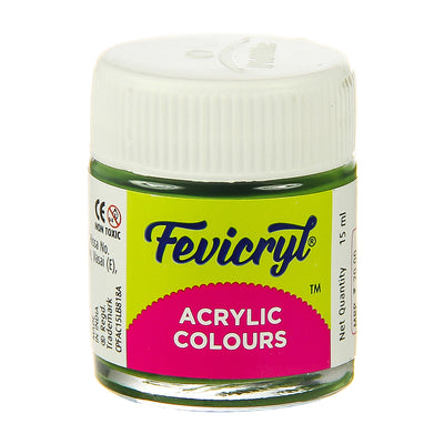 Fevicryl Acrylic Colours - Sap Green, 15ml, 1pc