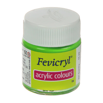 Fevicryl Acrylic Colours - Leaf Green, 15ml, 1pc