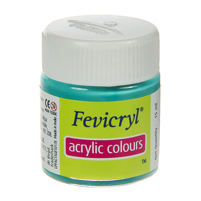 Fevicryl Acrylic Colours - Teal Blue, 15ml, 1pc