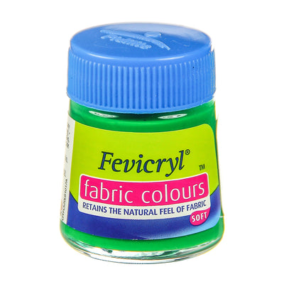 Fevicryl Fabric Colours - Light Green, 20ml, 1pc