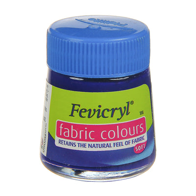 Fevicryl Fabric Colours - Ultramarine Blue, 20ml, 1pc