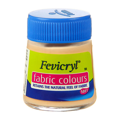 Fevicryl Fabric Colours - Flesh Tint, 20ml, 1pc