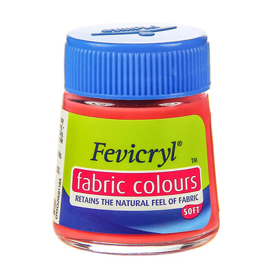 Fevicryl Fabric Colours - Salmon Pink, 20ml, 1pc