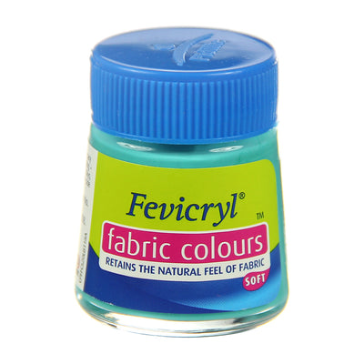 Fevicryl Fabric Colours - Teal Blue, 20ml, 1pc