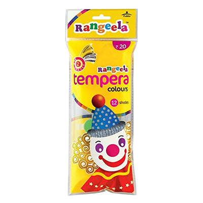 Students Tempra Colours Rangeela- 12 Colours, 3ml Each