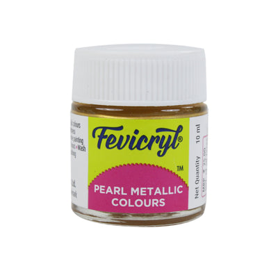 Fevicryl Pearl Metallic colour Gold- 10ml
