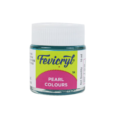 Fevicryl Pearl Colour 10Ml- Turquoise Blue