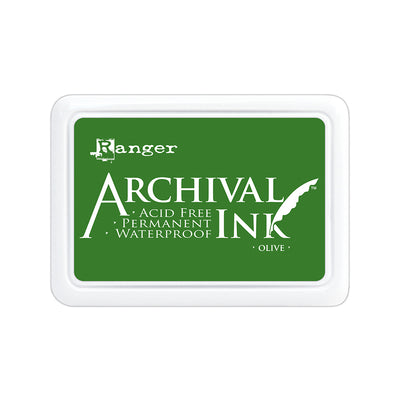Ranger Archival Ink Pad - Olive, 1pc
