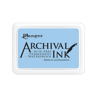 Ranger Archival Ink Pad - French Ultramarine, 1pc