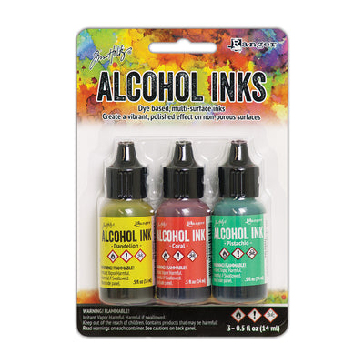Tim Holtz Alcohol Ink Kits - Key West, Set of 3pc