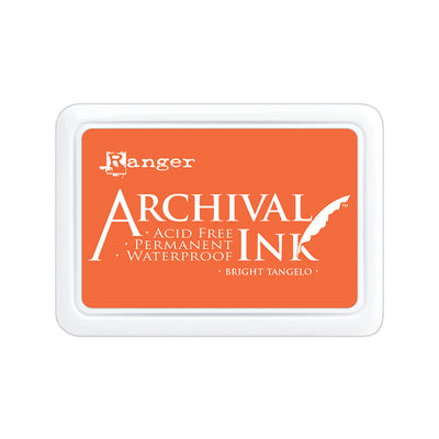 Ranger Archival Ink Pad - Bright Tangelo, 1pc
