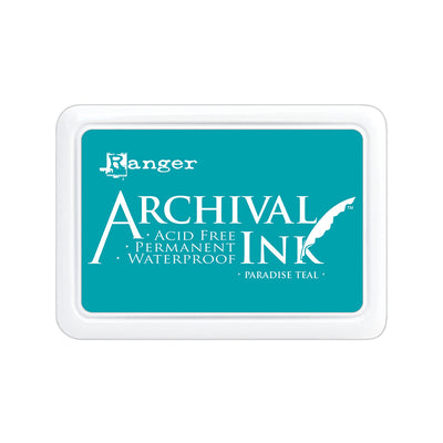 Ranger Archival Ink Pad - Paradise Teal, 1pc