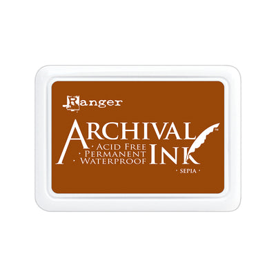 Ranger Archival Ink Pad - Sepia, 1pc