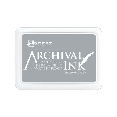 Ranger Archival Ink Pad - Shadow Grey, 1pc