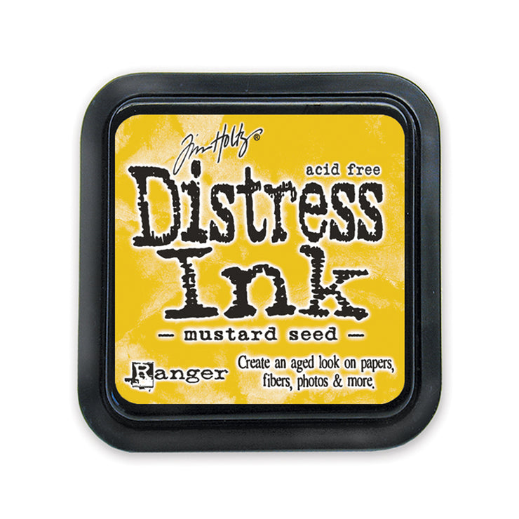 Tim Holtz Distress Ink Pad - Mustard Seed, 3in x 3in, 1pc
