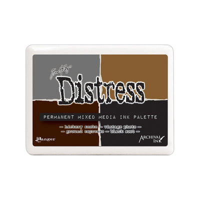 Tim Holtz Distress Mixed Media Archival Ink Palette - 4 colours, 1pc