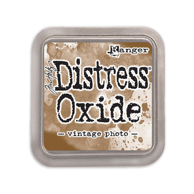 Tim Holtz Distress Oxide Ink Pad- Vintage Photo , 3in x 3in, 1 pc