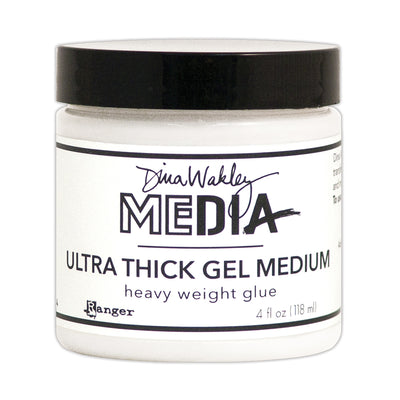Dina Wakley Media Ultra Thick Gel Medium, 4oz, 1 pc