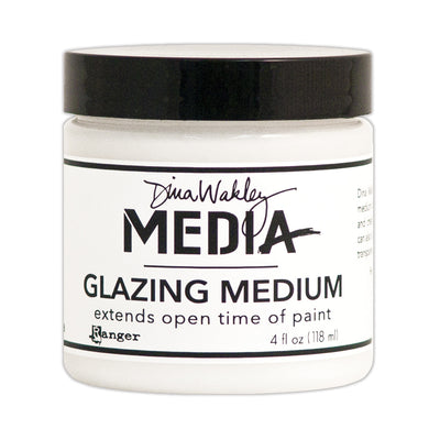 Dina Wakley Media Glazing Medium, 4oz, 1 pc