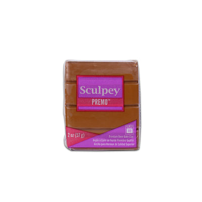 Sculpey Premo Clay- Raw Sienna, 2 Ounce, 57gm
