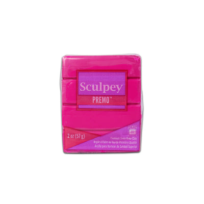 Sculpey Premo Clay- Fuchsia, 2 Ounce, 57gm