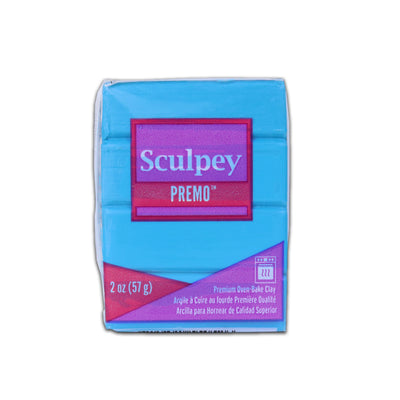 Sculpey Premo Clay- Turquoise, 2 Ounce, 57gm