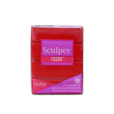 Sculpey Premo Clay- Pomegranate, 2 Ounce, 57gm