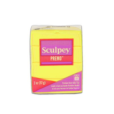 Sculpey Premo Clay- Sunshine, 2 Ounce, 57gm