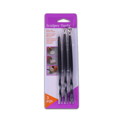 Sculpey Tools Dual End Detail Set Of 3
